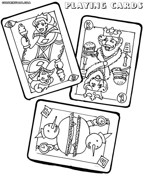 card coloring templates cards coloring pages coloring pages to