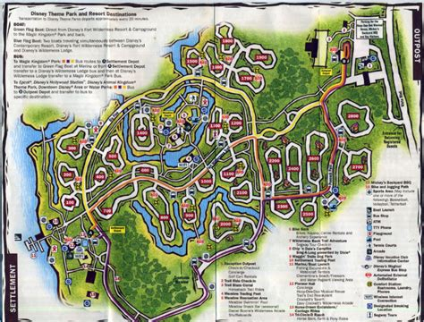 fort wilderness map map of disney s fort wilderness pictures to pin on pinsdaddy