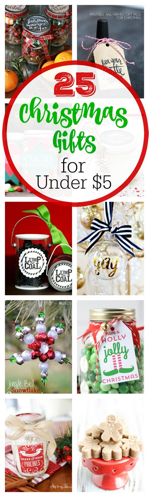 25 christmas gifts for under 5 crazy little projects