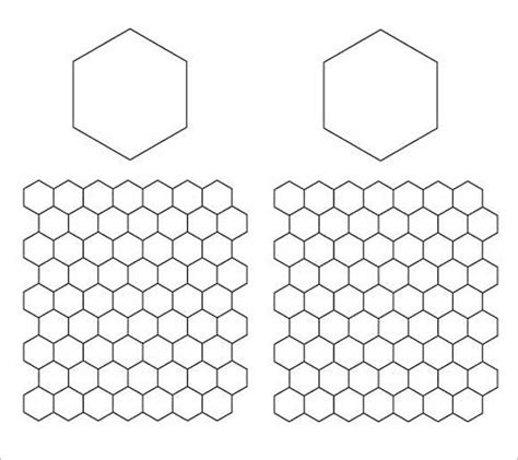 hexagon templates for paper piecing 22 paper templates sles doc pdf excel free
