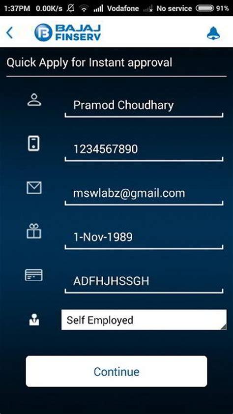 Bajaj Finance Loan Approval Letter Bajaj Finserv Experia Lets You Get Emi Loan Finance Instantly Approved Techwayz