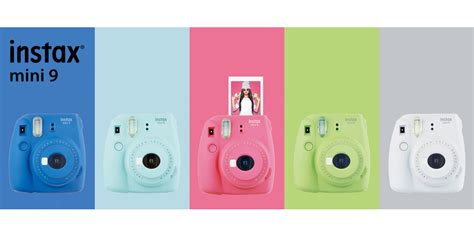 fujifilm instax colors fujifilm instax 174 mini 9 instant features include