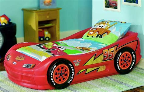 lightning mcqueen bed lightning mcqueen roadster toddler bed check prices in