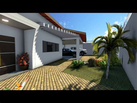 casa 3d 3d externo casa 300 metros quadrados
