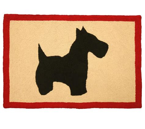 scottie rug scottie accent rug farmhouse and cottage
