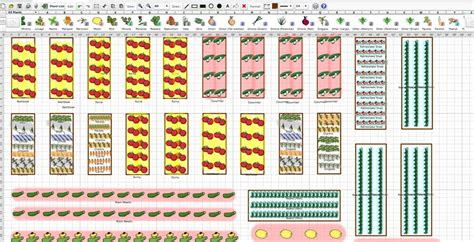 Vegetable Garden Layout Software Vegetable Garden Layout Software