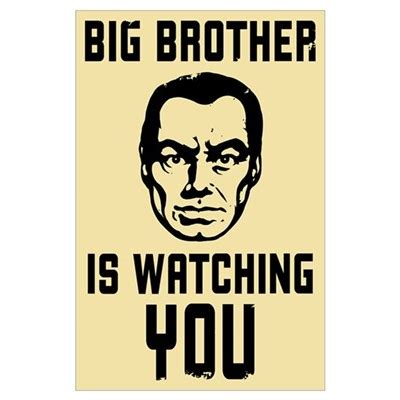 Gifts For Housewarming by Big Brother Is Watching You Poster