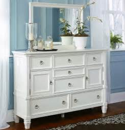 White Dresser Furniture White Bed With Storage Footboard By