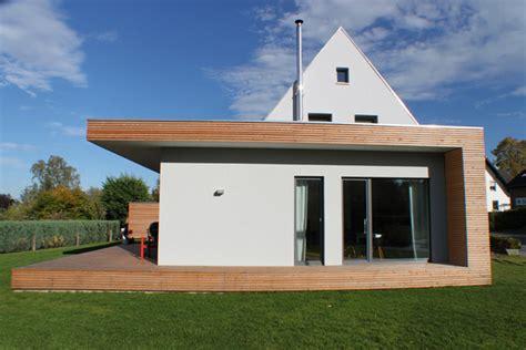 haus veranda anbau um und anbau eines 50er jahre siedlungshauses in paderborn