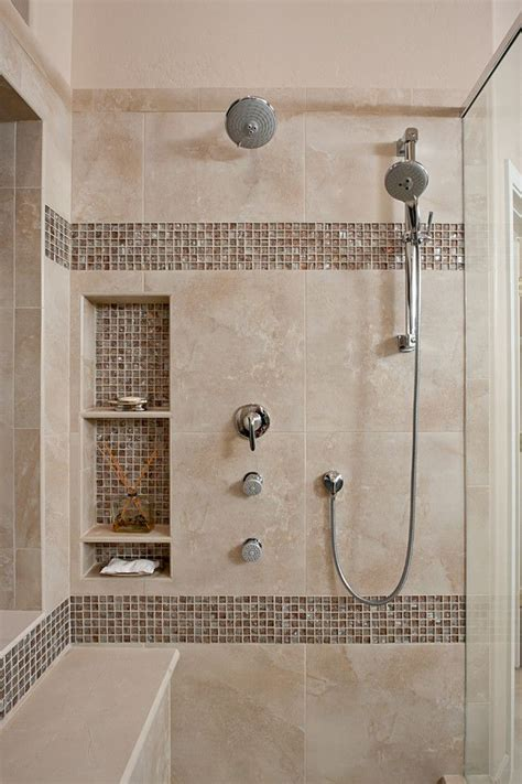 best 25 shower niche ideas on tile shower