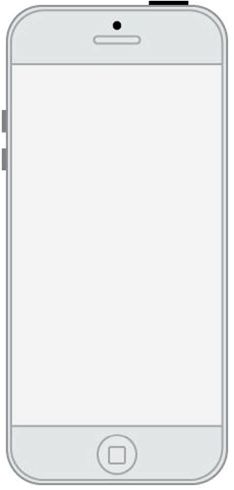 I Made This Iphone Template In Adobe Illustrator To Use In The Axure Program And It S To Scale Iphone Layout Template
