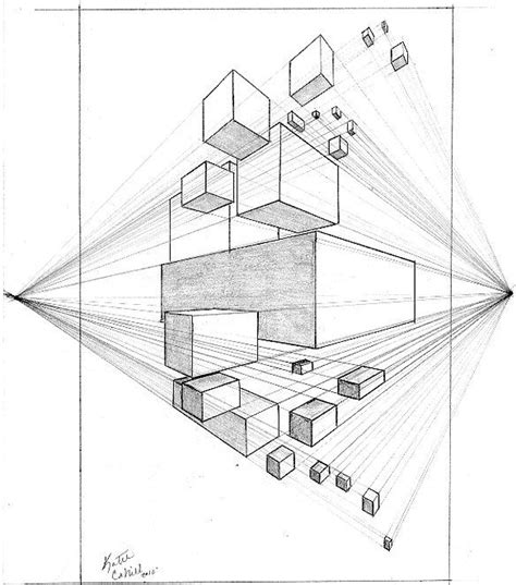Drawing 2 Point Perspective by 25 Best Ideas About Perspective Drawing Lessons On