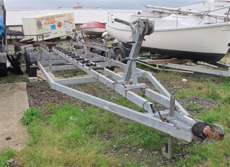 boat trailers for sale on gumtree boat trailer 3500 kg for boats up to 28ft in lymington