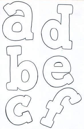 lettere pannolenci lettere minuscole schema feltro schemi