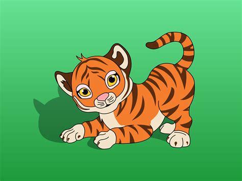 wallpaper cartoon tiger baby tiger pics cartoon wallpaper