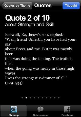 beowulf themes and quotes beowulf study guide quiz o rama 教育app玩免費 app點子
