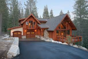 Modern Rancher hidden lake 22 old tahoe style mountain home mountain