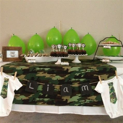 Camouflage Baby Shower Decorations by 1000 Ideas About Camo Baby Showers On Camo