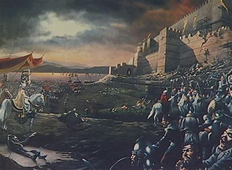 when did constantinople fall to the ottoman turks queda de constantinopla 1453 imp 233 rio bizantino