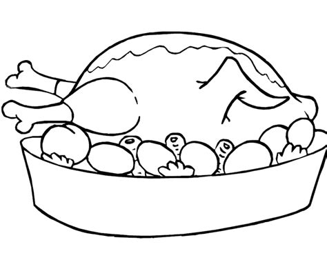 coloring pages of chicken nuggets chicken line art cliparts co