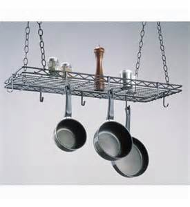 Kitchen Island With Hanging Pot Rack by Kitchen Hanging Pot Rack In Hanging Pot Racks