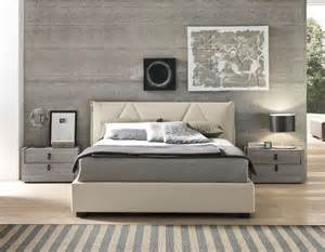 Italian Platform Bed With Storage Made In Italy Leather Platform And Headboard Bed With