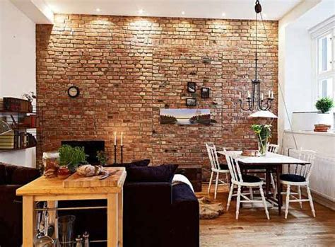 Ziegelwand Innen by 35 Ideas Give Your Home A Rustic Or Industrial Touch