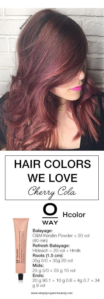 cherry coke hair color formula cherry cola hair color formula 28 images hair color