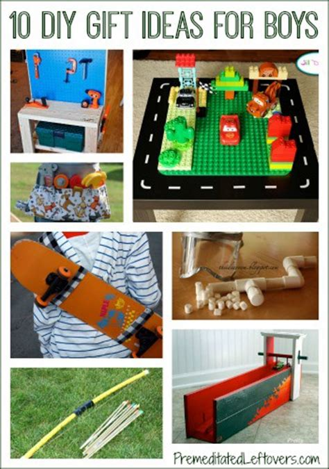 Handmade Gift Ideas For Boys - 10 diy gift ideas for boys