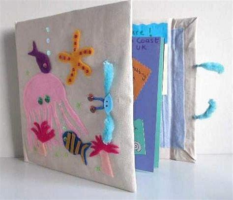 How To Make A Handmade Scrapbook - summer crafts for