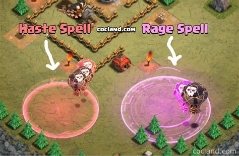 earthquake coc 3 new spells earthquake poison and haste clash of