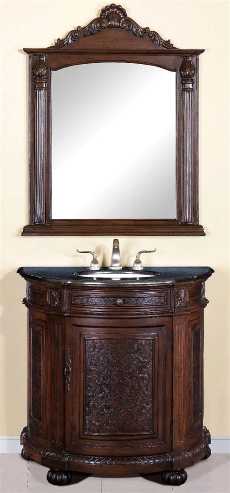 Gc 6381 Black Brown 30 inch to 48 inch vanities single bathroom vanities