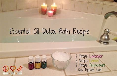 Epsom Salt And Coconut Detox Bath by 25 Best Ideas About Detox Bath Recipe On