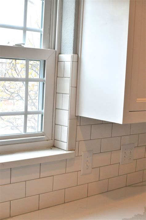tile around kitchen window 130 best images about master bath renovation on pinterest