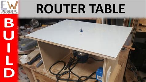 router table   diy youtube