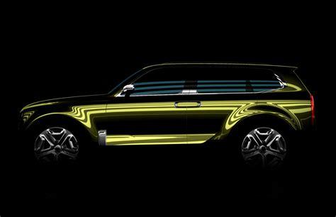 New Kia Suv Kia Teases New Suv Concept For 2016 Detroit Auto Show