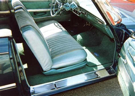 1961 ford galaxie interior 1961 ford galaxie sunliner convertible 63829
