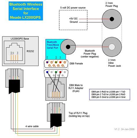 telephone cable wiring diagram circuit diagram maker
