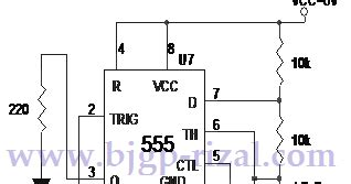 membuat jam digital dengan ic 555 led flip flop dengan ic 555 layout pcb rangkaian smk