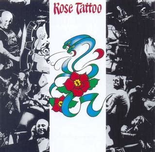 rose tattoo rose tattoo album wikipedia