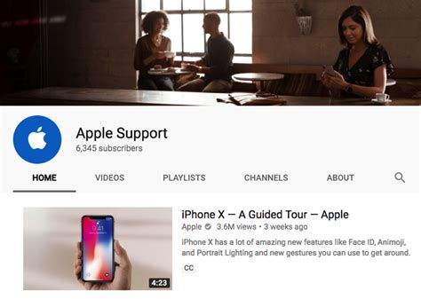 apple youtube apple support launches youtube channel with tips tricks