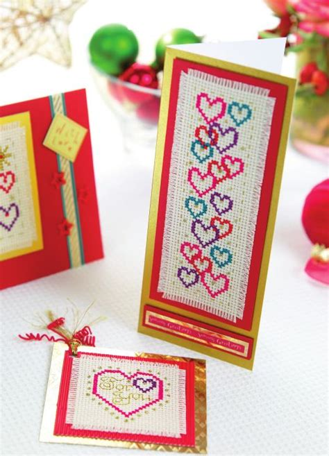 cross stitch greeting card templates sentiment cross stitch cards free card downloads