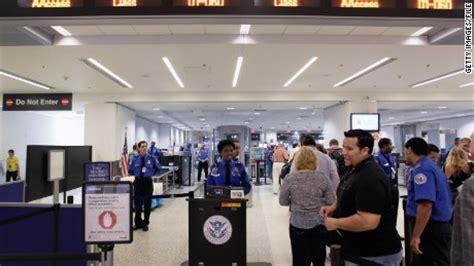 Tsa Employee Background Check Airport Security Wait Times Passengers Facing Tsa Lines Cnn