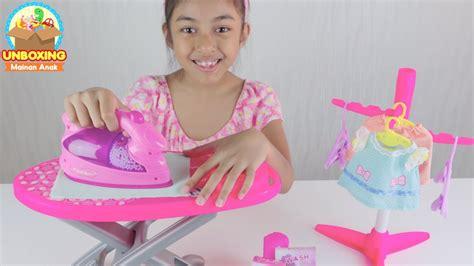 Mainan Anak Setrikaan mainan setrika setrikaan belajar menyetrika baju untuk