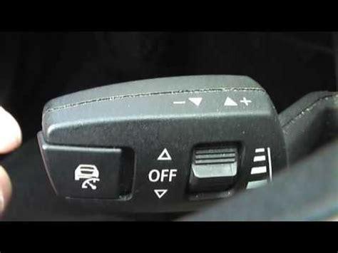 Bmw Geschwindigkeitsregelung Mit Bremsfunktion by Bmw 3er Idrive Tempomat Getriebe Bedienung