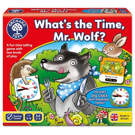 whats the time mr what s the time mr wolf game