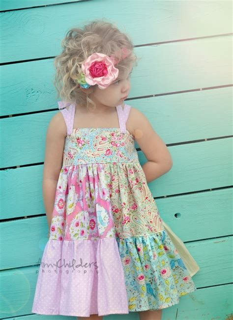 Patchwork Dress Pattern - 1000 ideas about toddler maxi dresses on