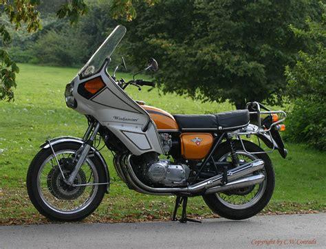 Windjammer Motorrad Verkleidung by Carco S Triumph Seite Restaurierung Honda Cb 750