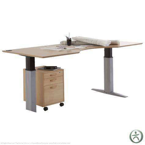 conset 501 23 laminate electric 26 quot 46 5 quot sit stand desk