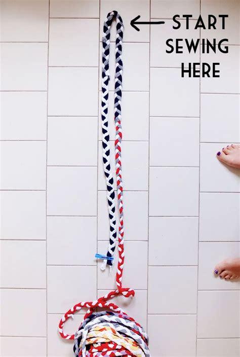 braided tshirt rug no sew 78 ideas about braided rug on handmade rugs diy rugs and rag rug diy